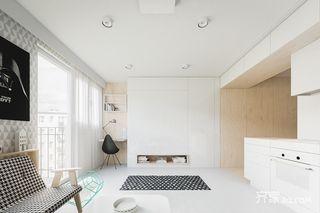 一居室北欧风公寓装修效果图