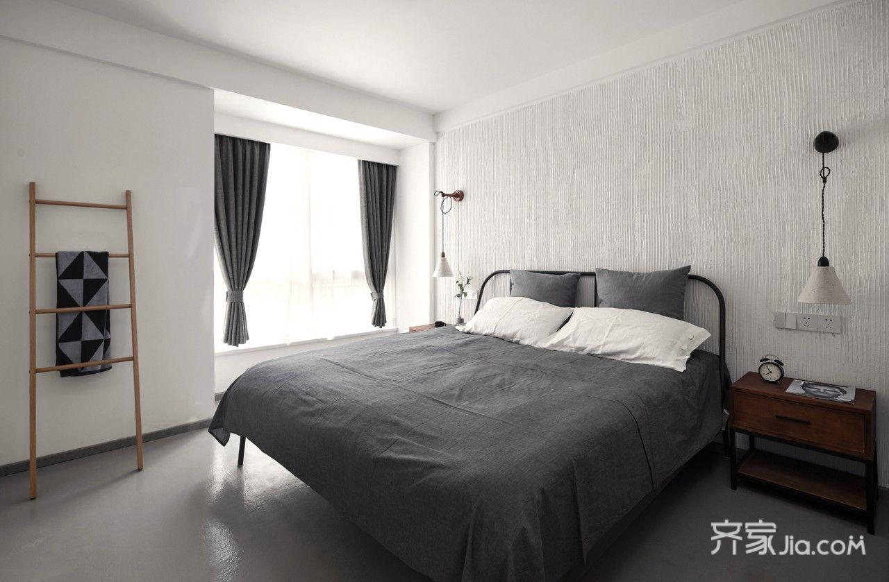 150平米简约复式装修卧室效果图