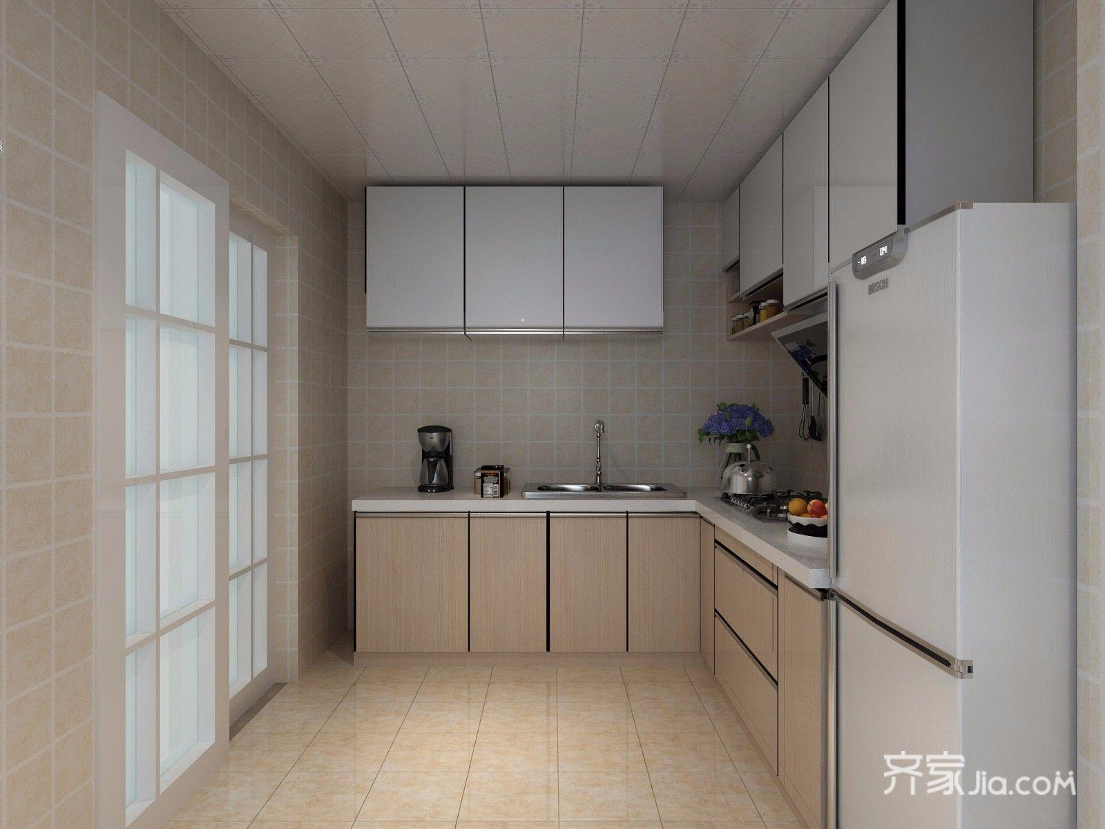 70平米简约二居室厨房装修效果图
