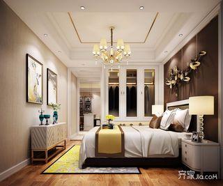 现代简欧风格三居卧室装修效果图