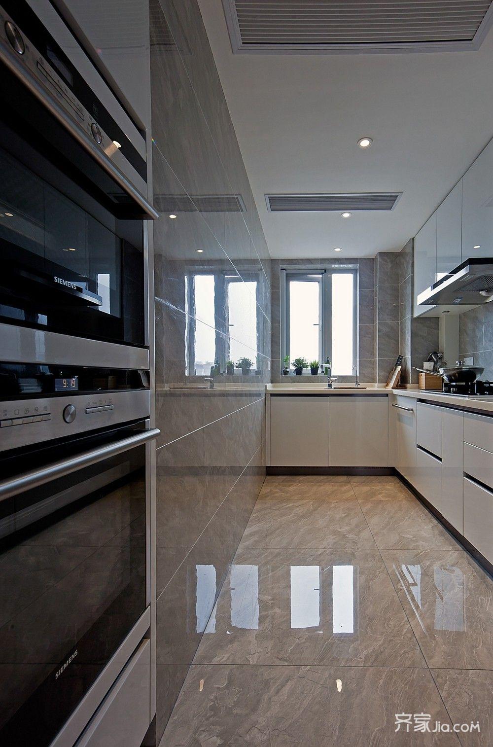 89平现代简约两居厨房装修效果图