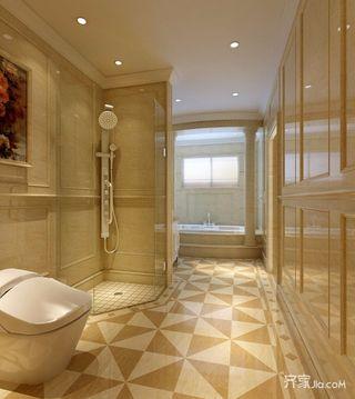新古典风格四居卫生间装修效果图
