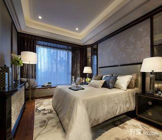 现代古典三居室装修效果图