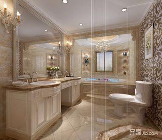 大户型豪华欧式别墅卫生间装修效果图