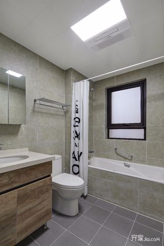 简约北欧风三居室卫生间装修效果图