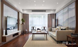 120㎡新中式三居装修设计图