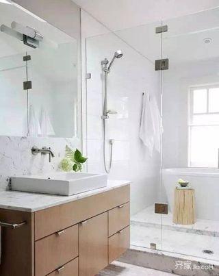 115平简约三居室卫生间装修效果图