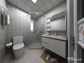 140平米现代风格卫生间装修效果图