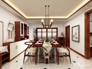 128平中式风格三居餐厅装修效果图