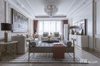 法式轻奢四居室装修效果图