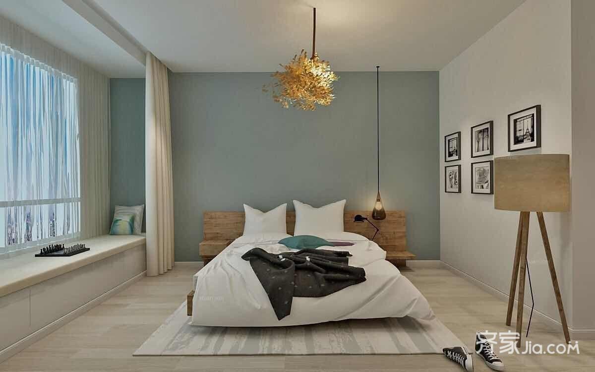 宜家风格二居卧室装修效果图