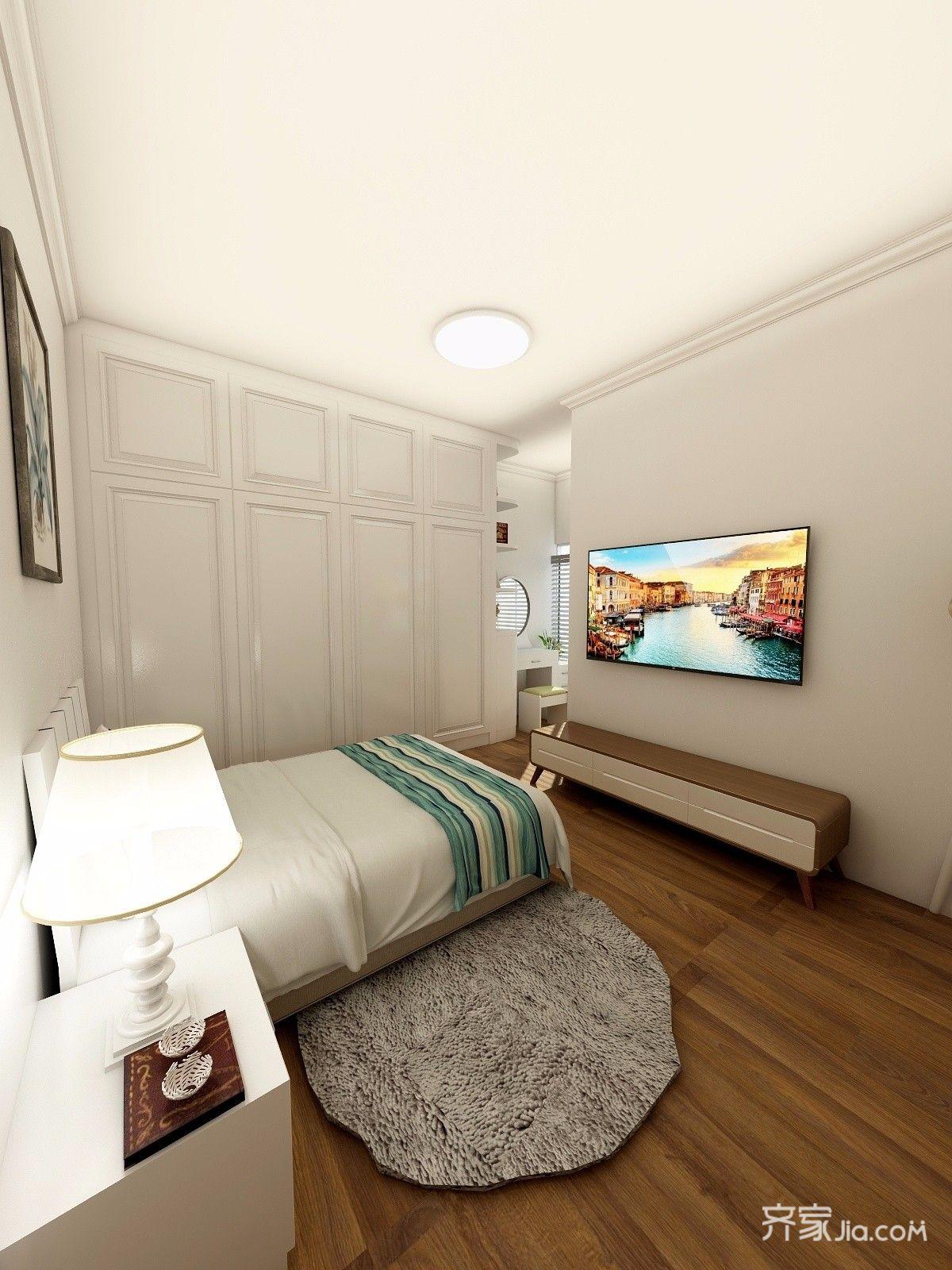 小户型现代简约风格卧室装修效果图