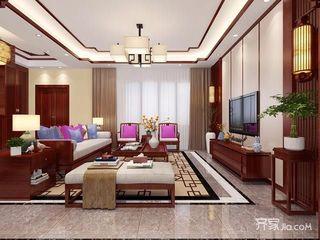 大户型新中式别墅装修效果图