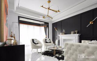 黑白现代轻奢风装修设计效果图