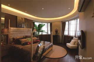 东南亚风格大户型装修卧室效果图