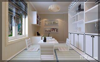 美式风格两居室书房装修效果图