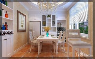 美式風格兩居室裝修效果圖