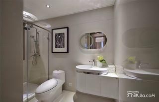 中式风格三居卫生间装修效果图