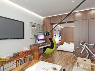 小户型一居公寓装修效果图