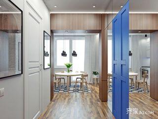 小户型一居公寓玄关装修效果图