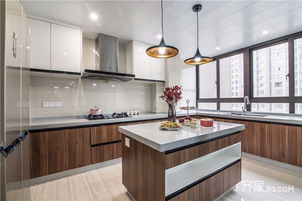 现代简约风四居室厨房装修效果图
