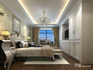 170平米美式风格卧室装修效果图