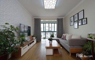 78平簡約風格二居裝修設計圖