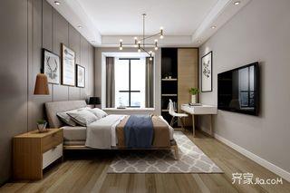 简约北欧风三居卧室装修效果图