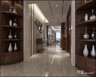 158平现代风格四居走廊装修效果图