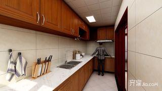 134平米中式风格厨房装修效果图