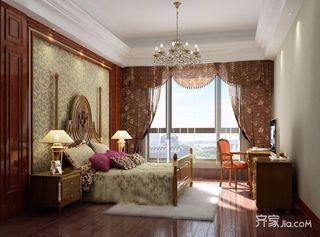 180平米欧式复式装修卧室效果图