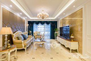 120平米欧式三居装修设计图