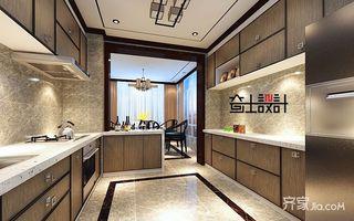 130平米新中式风格厨房装修效果图