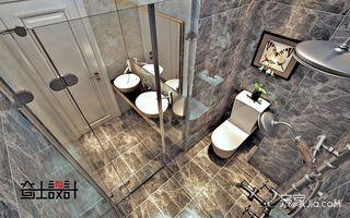 新中式风格二居室卫生间装修效果图