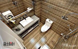 现代简约小户型卫生间装修效果图