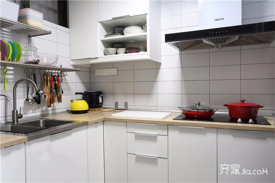 小户型宜家风二居厨房装修效果图