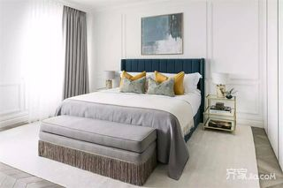 130平时尚现代风格卧室装修效果图