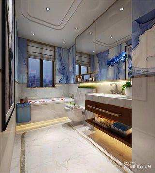 新中式三居卫生间装修效果图