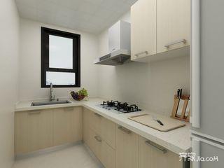 90㎡简约二居室厨房装修效果图