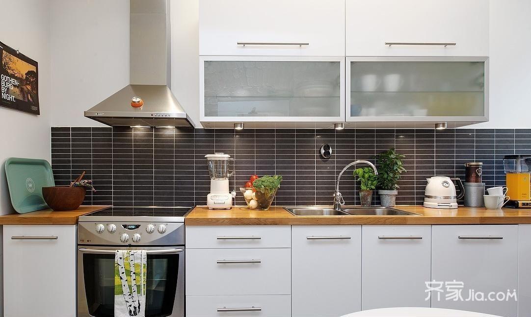 75平简约风厨房装修设计效果图