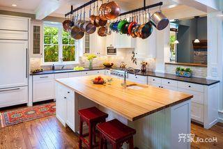 现代欧式三居厨房装修设计效果图