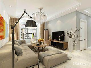 现代简约风两居室装修效果图