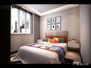 新中式风格大户型卧室装修效果图