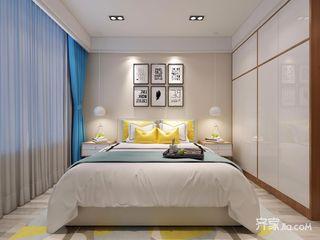 北欧宜家风二居卧室装修效果图