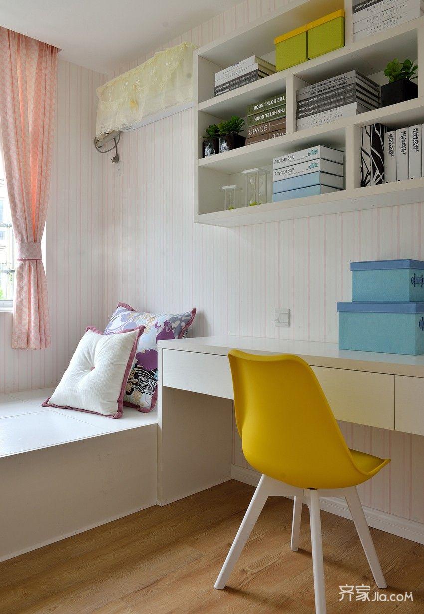 现代三居书房装修效果图
