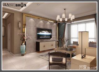 四居室新中式风格装修效果图