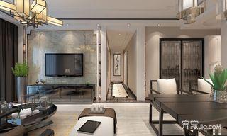 新中式三居室装修设计效果图