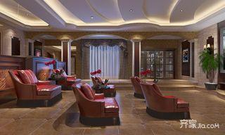 350㎡美式风格别墅装修沙发效果图