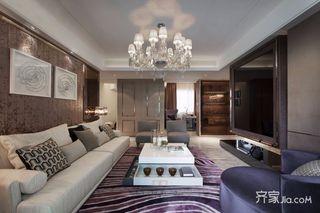 120平现代三居装修设计效果图