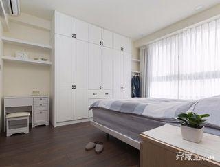130平米简约风格卧室装修设计图